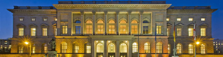 Stimmungsbild 'Das Gebäude des Abgeordnetenhauses'