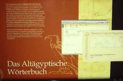 Bild eines Buches mit dem Titel Das Altägyptische Wörterbuch.
