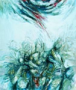 Abstrakte Malerei.