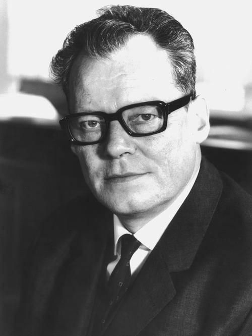 Portrait von Willy Brandt.