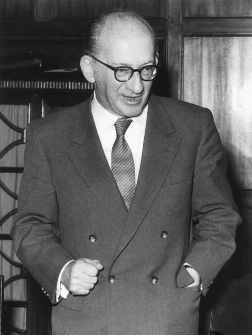 Portrait von Kurt Landsberg.