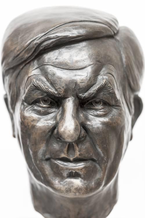 Büste von Jürgen Wohlrabe.