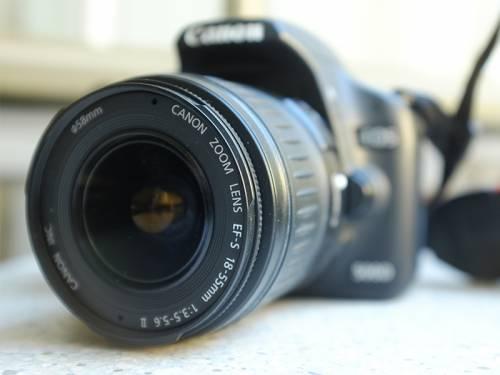 Nahaufnahme einer Digitalkamera