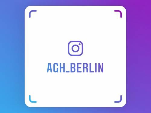 QR Code für Schnellzugriff auf den Instagram Account des Abgeordnetenhaus Berlin